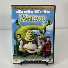 Shrek (DVD, 2001, 2-Disc Set, Special Edition)- GOOD Condition