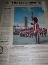 THE MACHINIST NEWSPAPER JUNE 1967 SALUTE TO CANADA AEROSPACE WORKERS