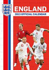 England National Team 2013 Calender Football Soccer new Three Lions NIP