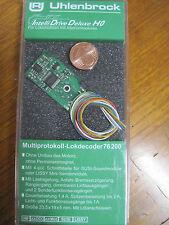 Uhlenbrock 76200 Lokdecoder MOT/DCC f. Allstrommotoren, Soundschnittstelle SUSI