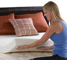 "3"" QUEEN RV/CAMPER 4 LB Density Memory Foam Mattress Pad Bed Topper MADE IN USA"