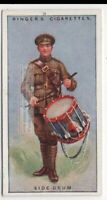 Snare Or Side Drum Percussion Musical Instrument 1920sTrade Ad Card