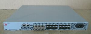 Brocade 300 24-Port 8Gb FC Switch 8-Port Active 8x SFP NA-320-0008 80-1001583-09