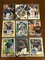 Baseball Cards - 9 Different Card Lot - Wil Myers - San Diego Padres