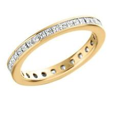Eternity Yellow Gold I1 Fine Diamond Rings