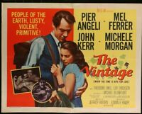 THE VINTAGE Pier Angeli John Kerr ORIG 1955 Half Sheet MOVIE POSTER 22 x 28