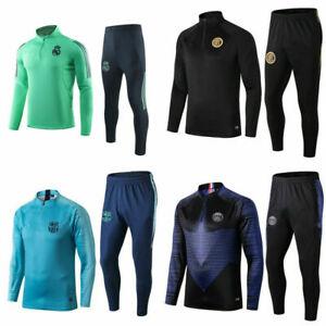 Adult Men Football Survetement Tracksuit Soccer Sportwear Sport Training Suit
