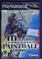 PS2 Millennium Championship Paintball 2009, UK Pal, Brand New & Factory Sealed