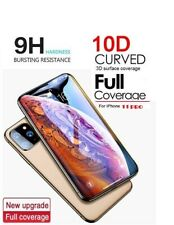 10D FULL COVER HD TEMPERED GLASS SCREEN PROTECTOR FOR APPLE iPHONE 11 PRO 5.8""