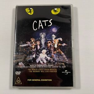 Cats (DVD 2000) Stage Production Musical Region 2,3,4,5,6