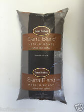 Farmer Brothers Whole Coffee Beans Medium Roasted Sierra 1 bag  5lb's ea  # 1272