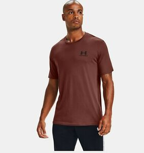 UNDER ARMOUR SPORTSTYLE LEFT CHEST GRAPHIC TEE