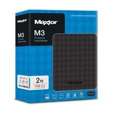 HDD ESTERNO 2TB MAXTOR SEAGATE STSHX-M201TCBM HDD  2,5'' 2TB, USB 3.0 Nero
