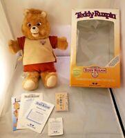 Teddy Ruxpin Talking Bear *IN ORIGINAL BOX* Great Shape Non-Working VINTAGE 1985