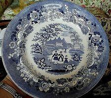 Staffordshire Pearlware Eaton College Plate C 1820 9.8'' Eton College