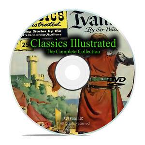 261 Issues of Classics Illustrated Comics, w/ 77 issues of Junior, PDF DVD I29