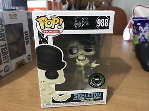 funko pop vinyl Popcultcha Exclusive Skeleton 988 Corps Bride