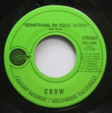 Rock 45 Crow - Something In Your Blood / Yellow Dawg On Amaret Records
