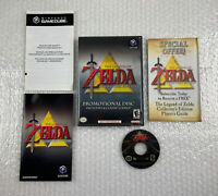 Legend of Zelda Promotional Disc Collectors Edition (Nintendo GameCube) Tested