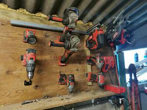 Milwaukee M18 tool hanger / holder for garage / workshop / van - 4 pack
