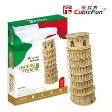 CubicFun 3D Puzzles Tower of Pisa Jigsaw Model Cardboard Puzzle MC053h