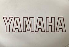 vtg YAMAHA smaller than standard, narrow wood / metal tennis racquet cover only
