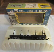 Vintage AHM Finest Ho Scale Oldtime Flat Car No. 6245 V&T RR  w/ Box