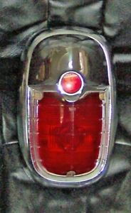 1954-1955 Nash Tail Light Assembly  VG-EXC.