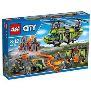 LEGO 60125 City Volcano Heavy-lift Helicopter Brand New