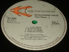 Pablo Moses – Revolutionary Dream LP   1977   REGGAE!!