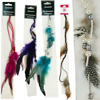 Wholesale Lot 100 Assorted Feather Hair Extension Colorful Highlights Closeout