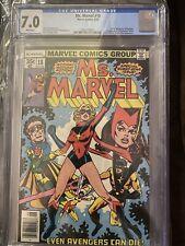 Ms. Marvel #18 CGC 7.0 1978 3906463013