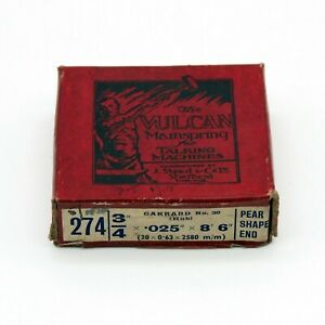 "GRAMOPHONE MAIN SPRING - 3/4"" x 0.025"" x 8' 6"" - GARRARD No. 30 (Old Stock)"