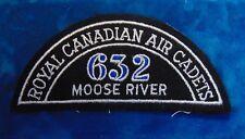 CANADA Royal Canadian Air Cadets MOOSE RIVER 632 squadron shoulder flash