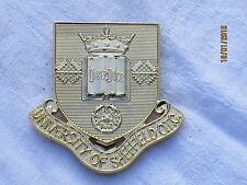 University of Sheffield, OTC, officier Training Corps, Maker: London Badge & Button