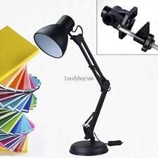New Adjustable Swing Arm Desk Lamp Table Drafting Light Home Office Work Reading