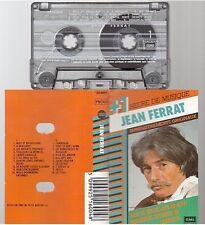 JEAN FERRAT cassette K7 tape 1H DE MUSIQUE nuit et brouillard camarade ..