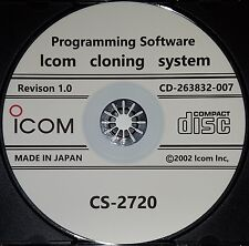 Icom CS-2720 Programming Software for the IC-2720H/2725E