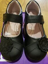 "New Fall Pediped Flex ""Sarah"" black  leather mary jane shoes,youth 1( 32)NIB"