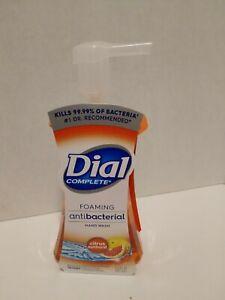 Dial Foaming Hand Soap with Pump Citrus Sunburst 7.5 Oz