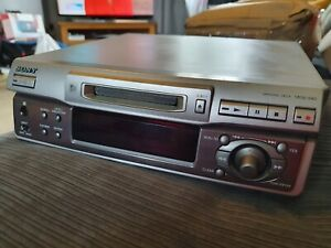 Sony MDS-S40 Minidisc Recorder - working