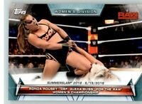 2019 WWE Womens Division #82 Ronda Rousey