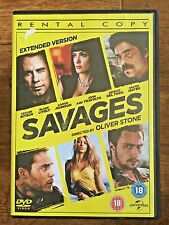 Aaron Johnson Emile Hirsch SAVAGES ~ 2012 Oliver Stone Crime Drama UK Rental DVD