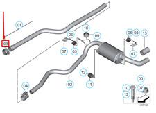 Brake Pad Wear Indicator Sensor fits BMW 550 F11 4.4 Rear 2012 on N63B44B TRW