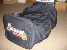 2009 Atlanta Braves Game Used Major League Baseball Canvas Equipment Bag