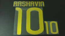ARSHAVIN #10 Russia Home 2010-2011 Gold Color Name Set