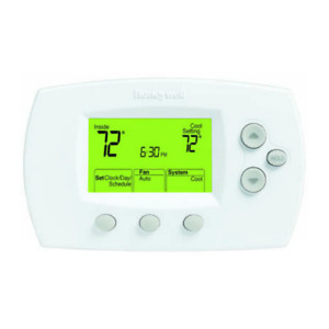 Honeywell FocusPRO 6000 1H/1C 5-1-1 Programmable Thermostat TH6110D1005