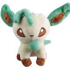 "Pokemon Leafeon Eevee Evolution Plush Stuffed Animal Toy 5"" US Seller"