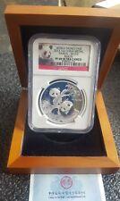 2013 Silver Panda Proof  Medal World Money Fair Berlin NGC-PF69 Ultra Cameo.