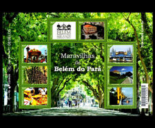 Belém of Pará Mi 4364-71, Sn 3322, Yt 3528-35, RHM 189 fruits Açaí Architecture